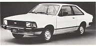 Ford Corcel II 1,3-Liter — 57 PS (netto) 1 Doppelvergaser (1984)