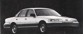 Ford (USA) Crown Victoria LX (1992)