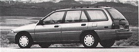 Ford (USA) Escort LX Wagon (1992)