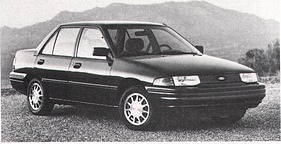 Ford (USA) Escort LX (1992)