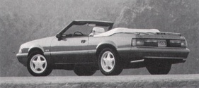 Ford (USA) Mustang LX Convertible (1992)