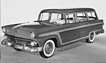 Ford V8 Country Squire (1956) - Kombi im Holzlook (© Archiv Automobil Revue)