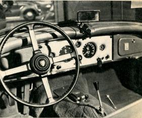 Armaturenbrett oldtimer  Bild / Foto: Jaguar XK 150 (1960) - Armaturenbrett (1960) aus dem ...