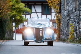 Lancia Ardea Cabriolet Pininfarina - kompakter Sonnenplatz für vier ...