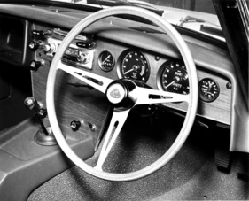 Lotus Elan 1600 (1963) - Blicks ins Cockpit (1963)
