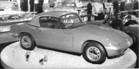 Lotus Elan 1600 (1963) - gezeigt an der Earls Court Motor Show 1963 (1963)