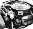 Bild (11/16): Monteverdi 375 L High Speed (1971) - der Chrysler-Motor im Bug des Coupés (Archivbild)