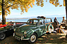 Morris Minor Traveller - ideal für das Picknick am See - Swiss Classic British Car Meeting Morges 2017 (1965)