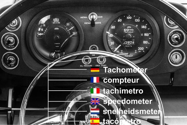 Oldtimer latein oder Übersetzung von autobegriffen in englisch