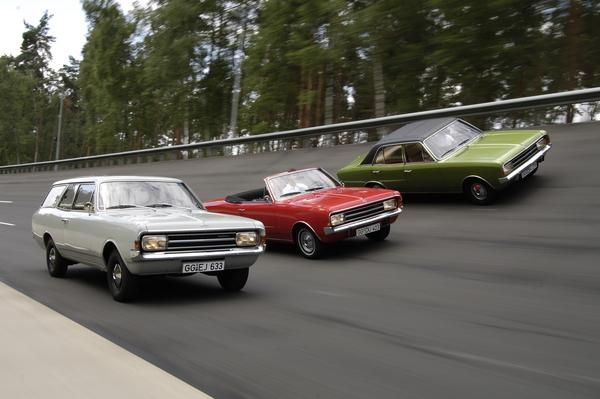 Oldtimer News Opel Rekord C Feiert 50 Geburtstag An Der 14