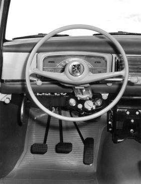 Bild / Foto: Peugeot 403 (1962) - Cockpit und Armaturenbrett (1962 ... | {Armaturenbrett oldtimer 20}