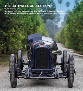 Bild (1/1): Peugeot L45 Grand Prix Two Seater (1914) - als Lot 408 an der Bothwell Collection Versteigerung von Bonhams am 11. November 2017 (© Bonhams, 2017)