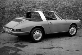 Porsche 912 (1966) - der Soft-Window-Targa mit Vierzylinder (1966)