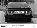 Bild (11/16): Rover SD1 Vitesse (1982) - Heckansicht, Lancierung des Wagens (© Fotograf: Werk / The Rover Sports Register, 1982)