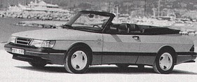 Saab 900 Turbo 16 S Convertible (1992)