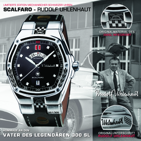 Bild (1/19): Scalfaro Rudolf Uhlenhaut Edition (© Scalfaro, 2013)