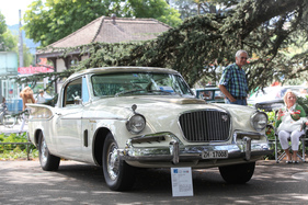 Studebaker Golden Hawk (1957) - eleganter Zwetürer - am ZCCA 2016 (1957)