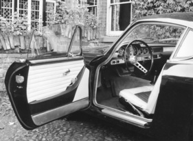 Volvo P 1800 S (1961) - Funktionales Interieur (1961)