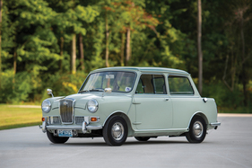 Bild (1/4): Wolseley Hornet MkII (1966) - Luxus-Mini mit opulentem Chrom-Zierrat am Bug (© Courtesy of RM Sotheby's, 2019)