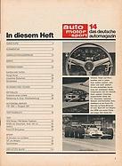Facsimile - auto motor und sport / Nr. 14 / 1970 - Seite 3 (1970 ...