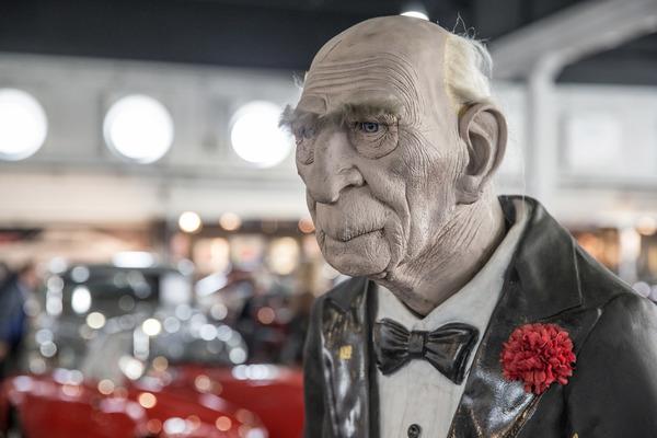 Bildergeschichte auto e moto d epoca 2017 ausverkauf und for Butlers ausverkauf