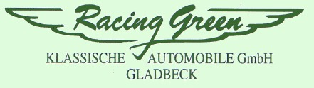 Logo: Racing Green – Klassische Automobile Gladbeck