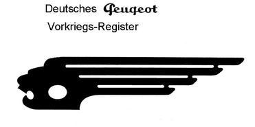 Logo: Deutsches Peugeot Vorkriegs Register