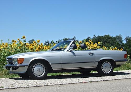 Mercedes Sl  Mit Frau
