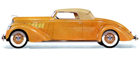 Lincoln K Series V12 LeBaron Convertible von 1939