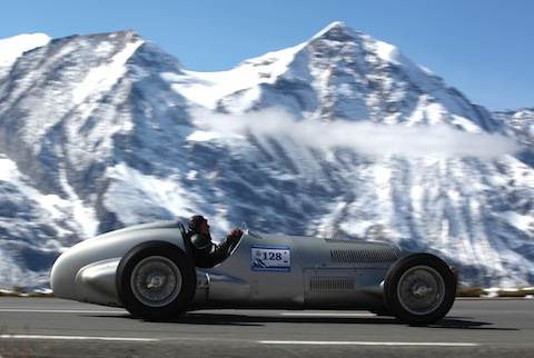 Mercedes-Benz W125 am Grossglockner Grand Prix 2012