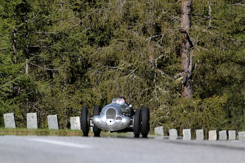 Mercedes-Benz W125 am Grossglockner