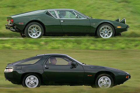 ähnlichkeiten Und Unterschiede De Tomaso Pantera Und Porsche 928 Oldtimer Blogartikel Vom 18 02 2018 Zwischengas
