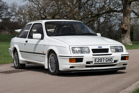 Ford Sierra RS500 Cosworth von 1987 (© Silverstone Auctions)