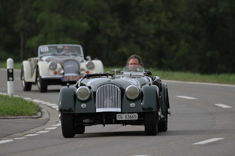 2 x Morgan am Bergrennen Steckborn Memorial 2018