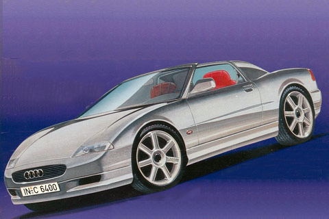 Audi Roadster im April 1995 (© AMS, Mark Stehrenberger)