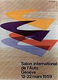 Plakat Genfer Autosalon 1959
