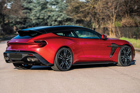 Klassikerperlen Der Zukunft Aston Martin Vanquish Zagato Shooting Brake Oldtimer Blogartikel Vom 14 05 2019 Zwischengas