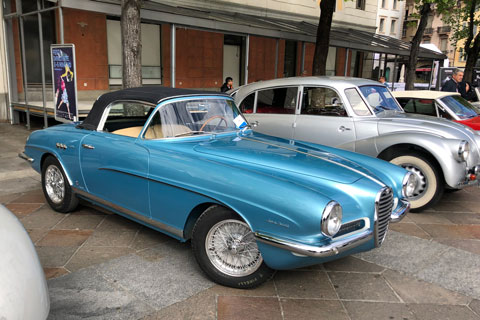 Best of Show am Concours in Lugano - Alfa Romeo 1900 SS