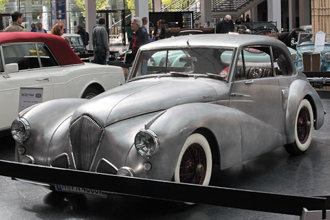 Healey Tickford Saloon von 1954 an der Motorworld Classics Bodensee 2019