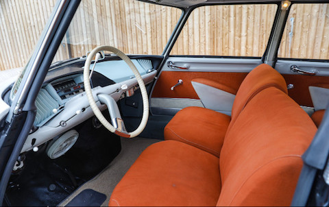 Interieur der Citroën DS19 von 1959 (© Gooding & Co)