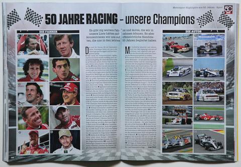 Sportrückblick über 50 Jahre Auto Zeitung
