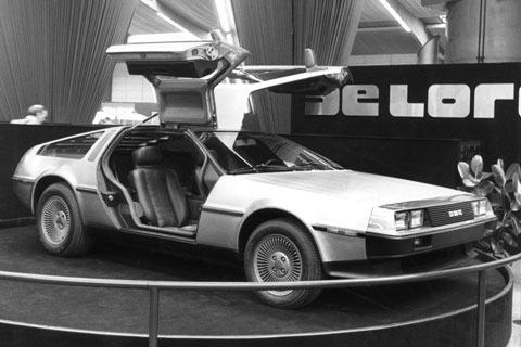 DeLorean DMC-12 in Genf 1981 (© Automobil Revue)