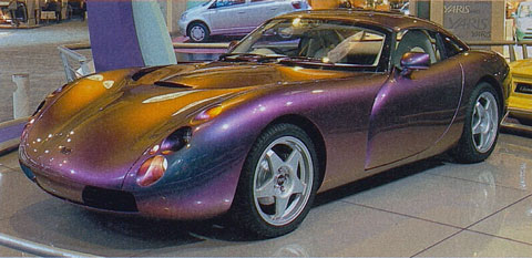 TVR Tuscan Prototyp 1998 in Birmingham (© AMS)