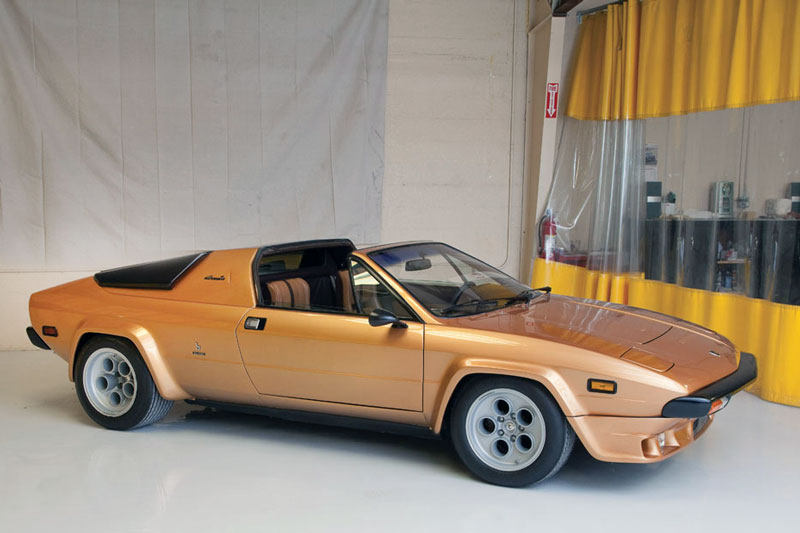 Lamborghini Silhouette von 1978 (© Harvey Smith - Courtesy RM/Sotheby's)