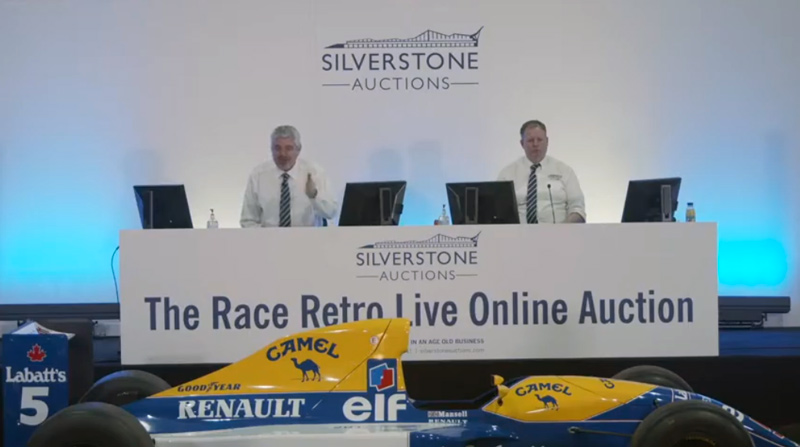 Silverstone Auction in Action