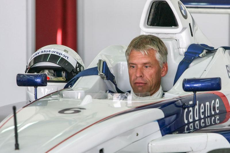 Formel BMW im Jahr 2008 mit Daniel Reinhard am Lenkrad