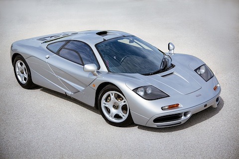McLaren F1 (1997) - als Lot 51 angeboten durch Gooding & Company in Pebble Beach 2013 (© Mike Maez - Courtesy Gooding Company)