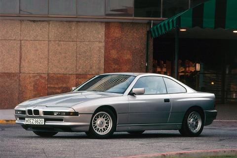 BMW 850i Coupe In Silber Aus Dem Jahr 1990 C AG