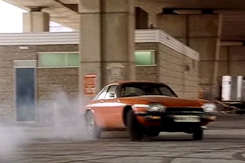 "Jaguar XJS in Fernsehserie ""The New Avengers"""