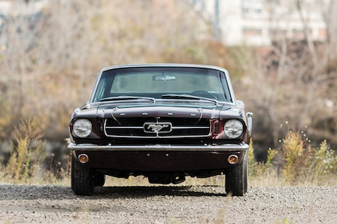 "Ford Mustang ""Shorty"" 1964 (© Drew Shipley - Courtesy of Auctions America)"